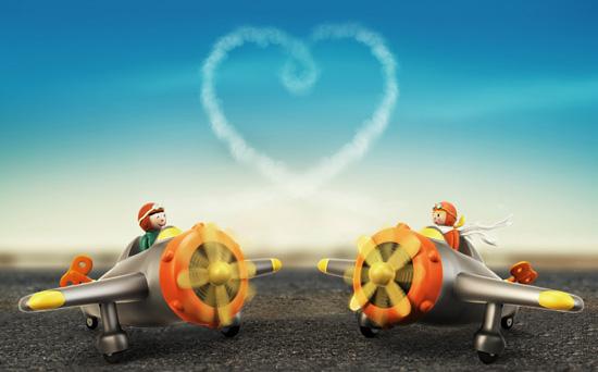 Valentine's Flight